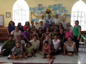 Teachers and friends learning Biblical Principles of Christian Education in Campeche