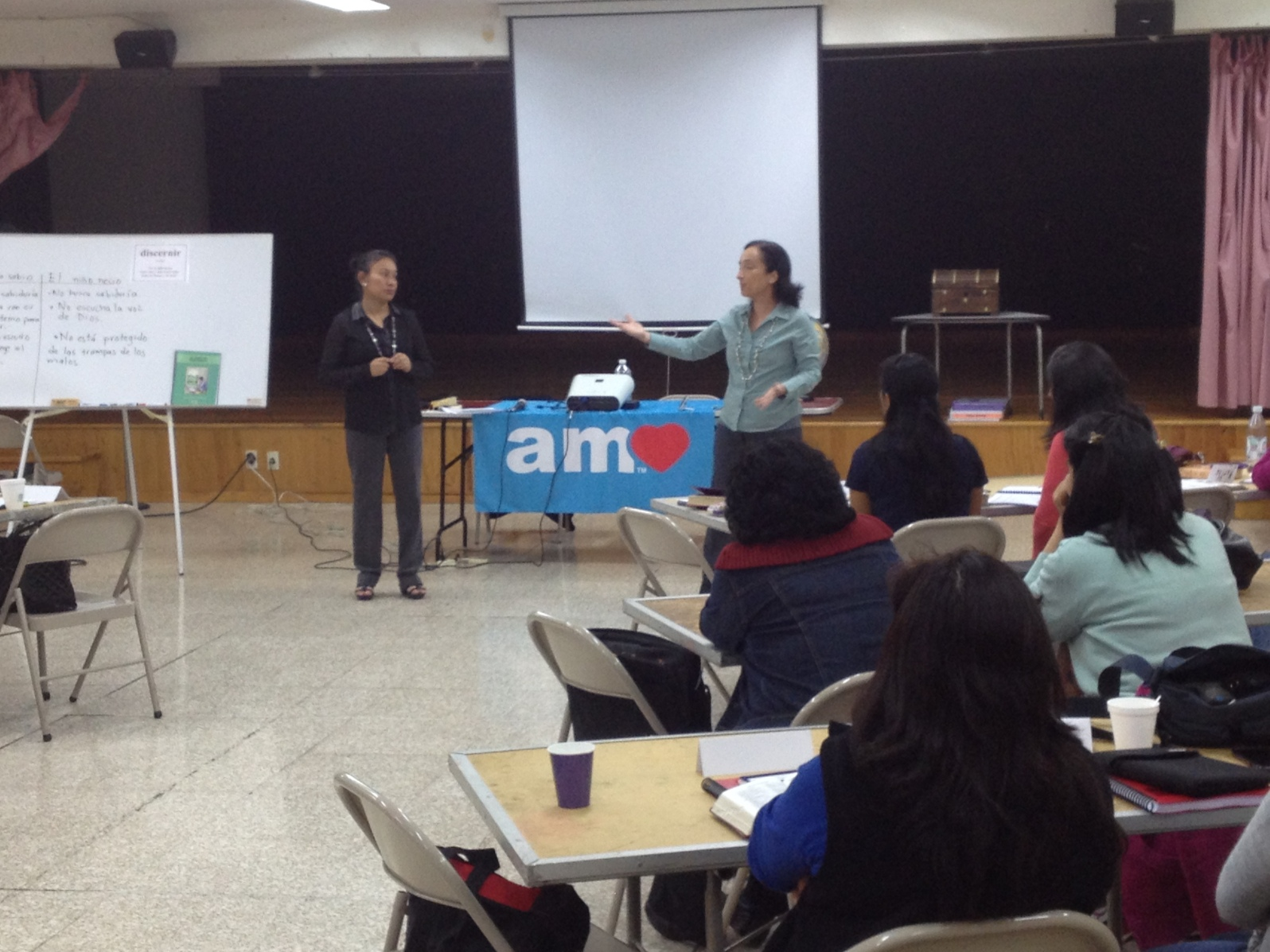 Teaching at downtown church in Mexico City