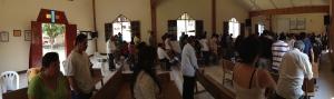 Praying for new children's classes in Mazatepec