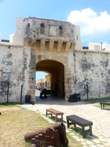 Historic Campeche, on the Gulf coast, was fortified against pirate raiders. It's protective gates are useful to illustrate how AMO helps parents protect and nurture their children's upbrining.