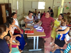 Women of the church planning the education of the children. ~ Arca de Salvación, Villahermosa, Tab.