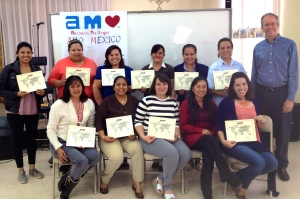 Puebla's first AMO apprentices!