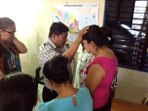 A time of blessing in Comalcalco