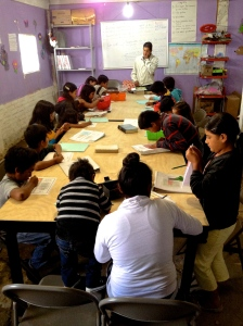 Alejandro teaching