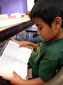 Bible reading for reasoning