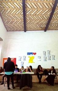 AMO class in Pátzcuaro