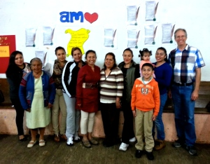 Our group in Michoacán