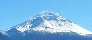 Volcano Popocatéptl