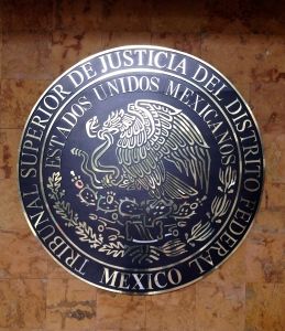 Federal Judicial seal, Mexico City