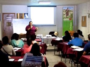 New AMO Trainer Elizabeth Bermudez in Irapuato