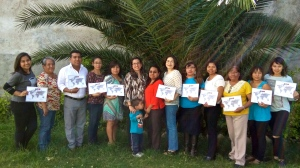 First group taught by new TOT's in Oaxaca